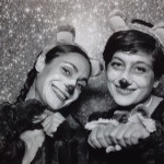 Christmas bears performing! Bianca Falco and Despina Stamos. December 2015